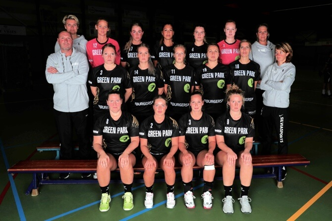 HV Aalsmeer dames 1 2018-2019